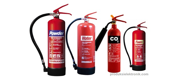 Jenis-jenis Alat Pemadam Api Ringan (APAR) dan cara menggunakannya