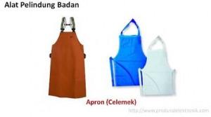 apron (celemek), alat pelindung tubuh