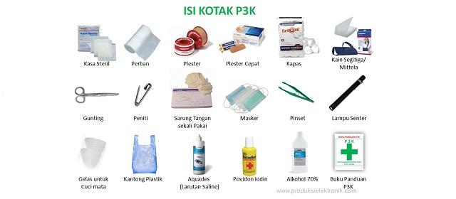Daftar Isi Kotak P3K