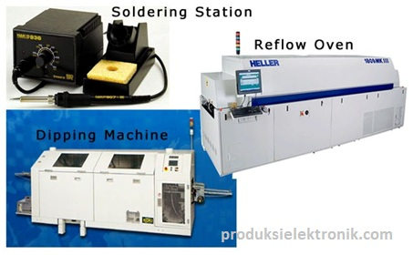 Mesin dan Alat-alat untuk Solder
