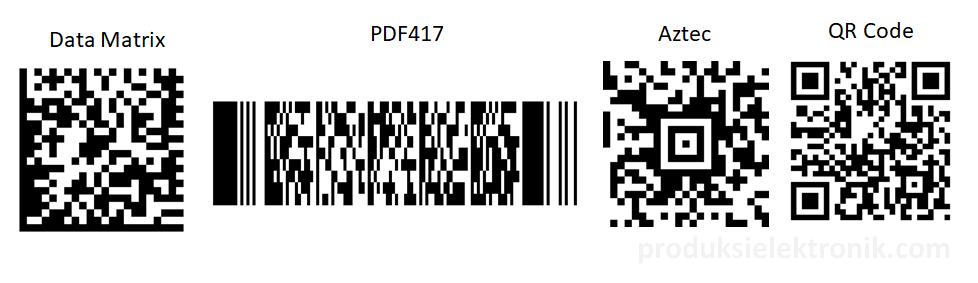 Jenis-jenis Barcode 2D